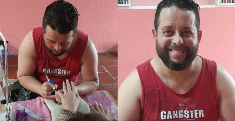 Robson Barbosa seguiu os conselhos de especialistas e apostou na profissão de manicure para superar a depressão