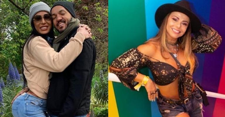 Gracyanne Barbosa é casada com Belo, ex de Viviane Araújo