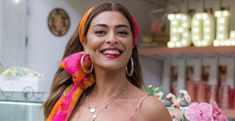 Juliana Paes está no ar como Maria da Paz, em 'A Dona do Pedaço', novela das 21h escrita por Walcyr Carrasco.