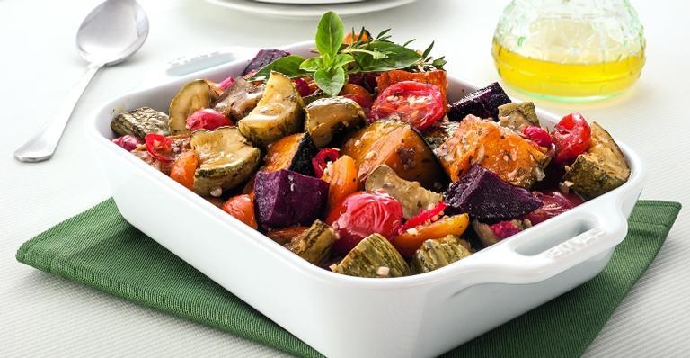 Confira como preparar a receita 'terrinha de legumes'