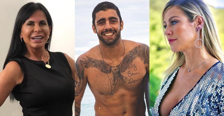 ''Ela acha que é dona dele'', diz Gretchen sobre Luana Piovani e Pedro Scooby