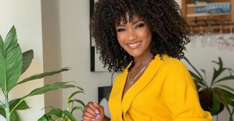 Érika Januza diz que tem um ponto em comum com a personagem em 'Amor de Mãe'