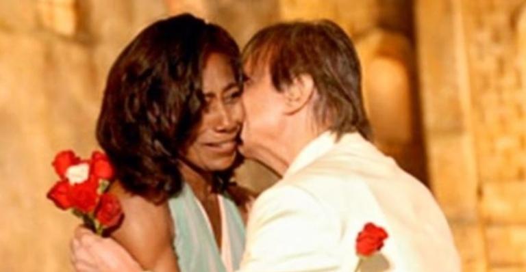 Roberto Carlos fez parceria cinematográfica com participação de Gloria Maria