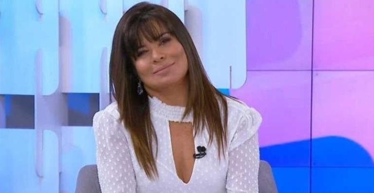 Mara Maravilha no 'Fofocalizando' do SBT