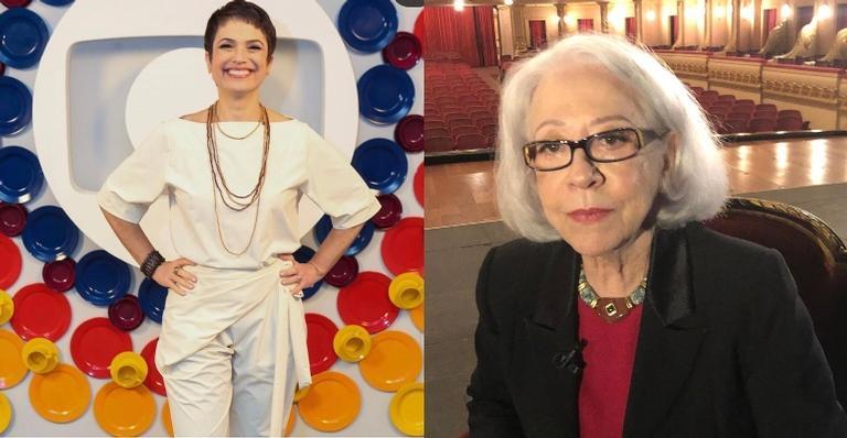Sandra Annenberg publica clique lindo ao lado de Fernanda Montenegro
