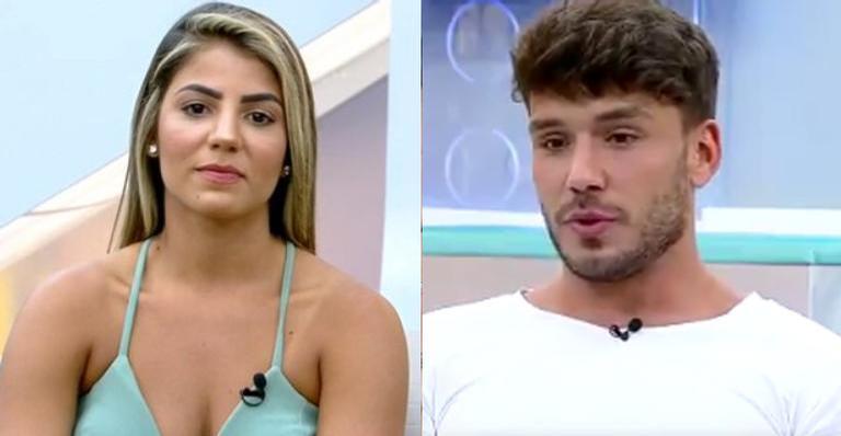 Lucas Viana se ofende com depoimento de Hariany sobre namoro