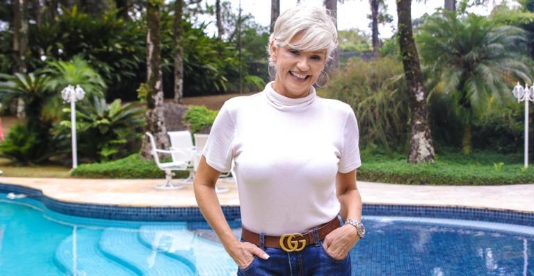 Andréa Nóbrega foi uma das participantes do reality show 'A Fazenda'