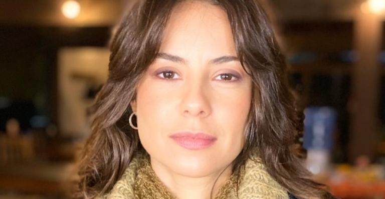 Andréia Horta faz declaração para marido, Marco Gonçalves