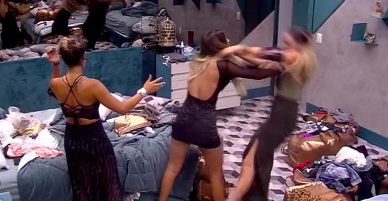Hariany e Paula brigam no BBB19