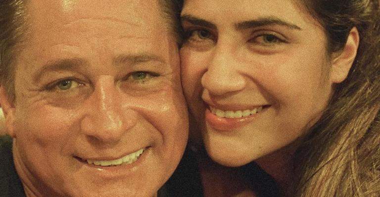 Leonardo recebe declaração de filha, Jéssica Beatriz Costa: ''Te amo''