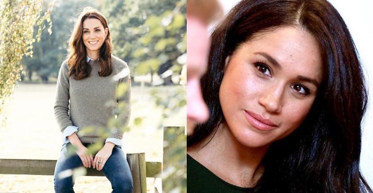 Meghan Markle e Kate Middleton têm uma relação estremecida, diz revista americana