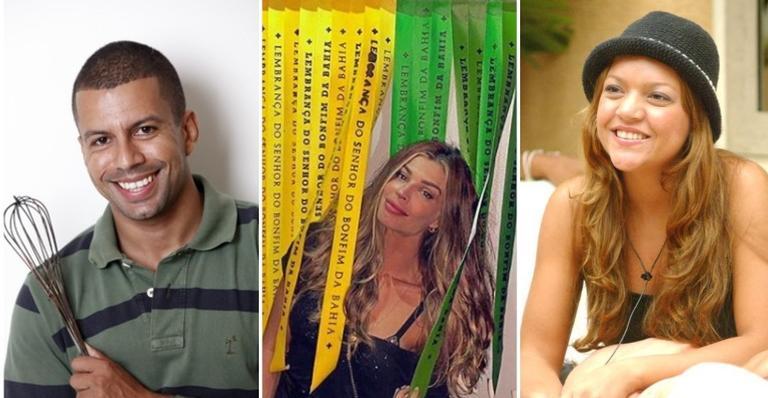Thiago Lira, Grazi Massafera e Elane Chaves foram vices do 'BBB'