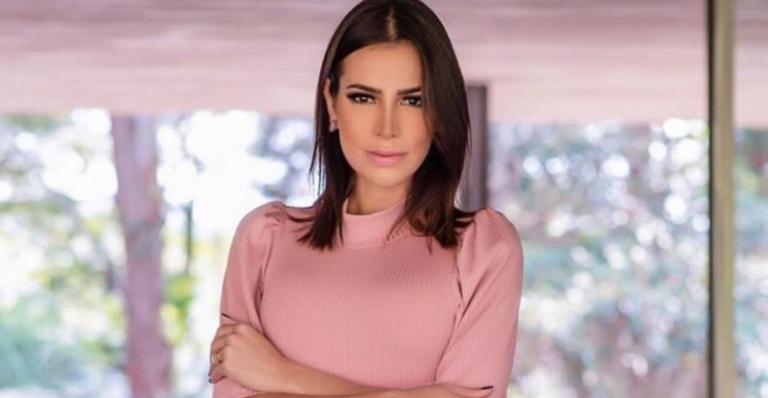 Adriana Sant'Anna muda de rotina após gravidez e exibe resultado