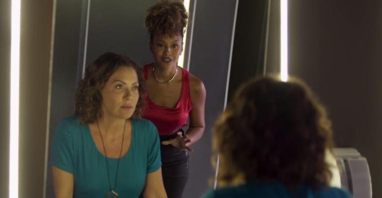 Nana decide confiar em Gisele em 'Bom Sucesso'