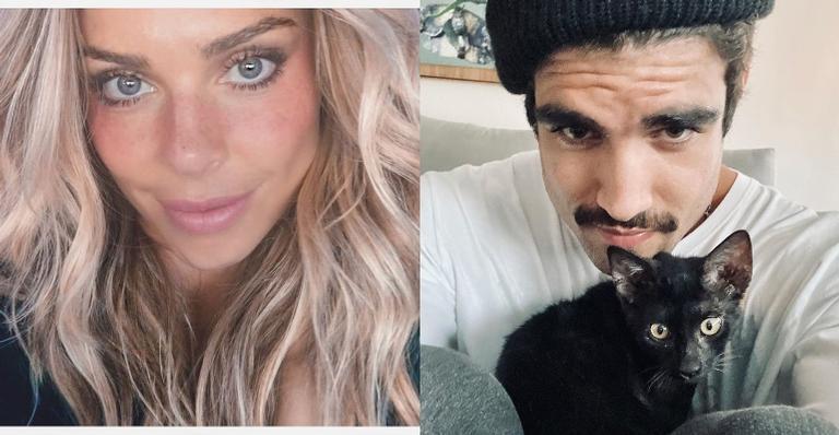 Caio Castro e Grazi Massafera vão à festa de elenco de 'Bom Sucesso'
