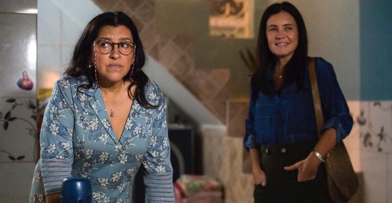 Lurdes (Regina Casé) procura seu filho perdido em 'Amor de Mãe'