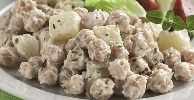 Maionese de grão-de-bico; uma receita prática e saborosa