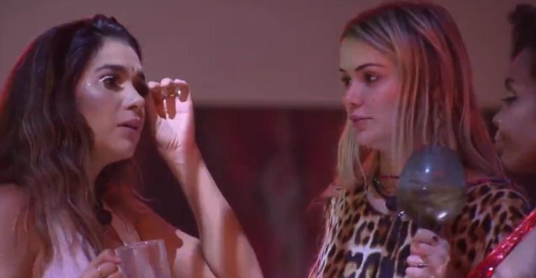 Sisters discutiram na festa e Marcela se frusta com amizade de Gizelly
