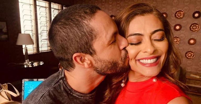 Rainer Cadete e Juliana Paes atuaram juntos em 'A Dona doPedaço'