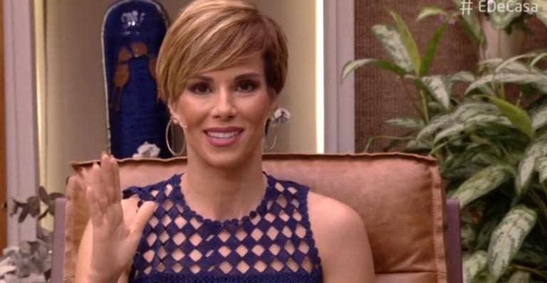 A apresentadora do 'É de Casa' esclareceu dúvidas sobre o vírus