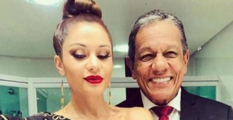 A atriz estava com Arnaldo Pereira Filho há um ano