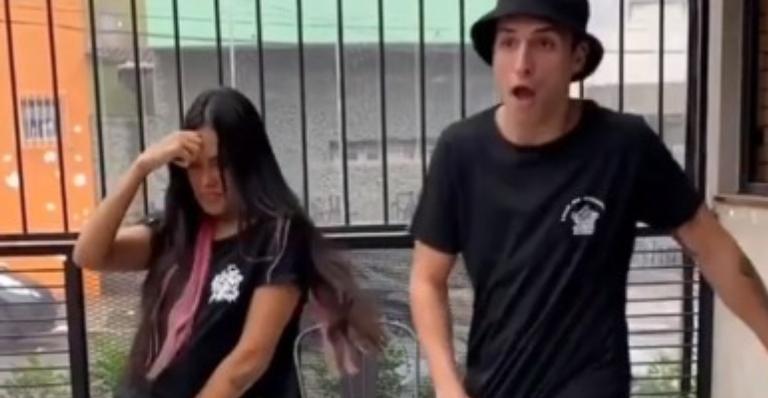 Cantora quebrou a quarentena para visitar o amigo em São Paulo