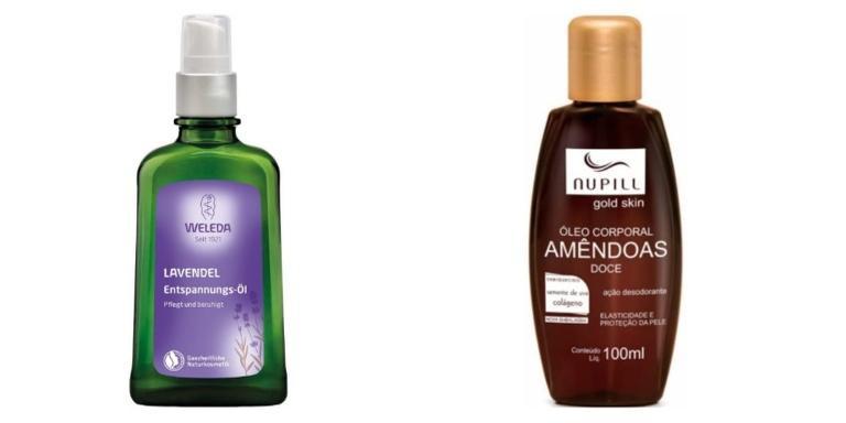 Selecionamos produtos para o corpo para você dar uma olhada
