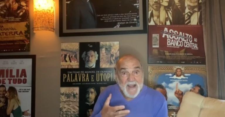 Primeiro vídeo do ator será sobre Padre Antônio Vieira