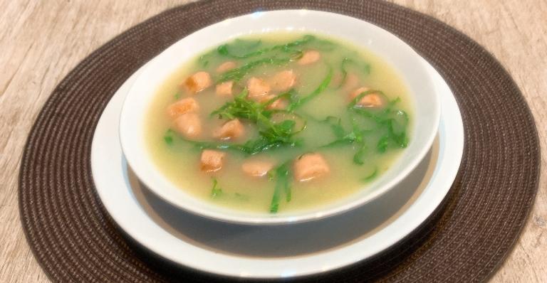 Receita saborosa do dia: Caldo Verde com Linguiça