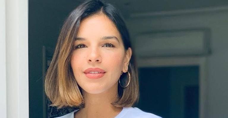 A atriz anunciou neste mês que está esperando o seu primeiro bebê