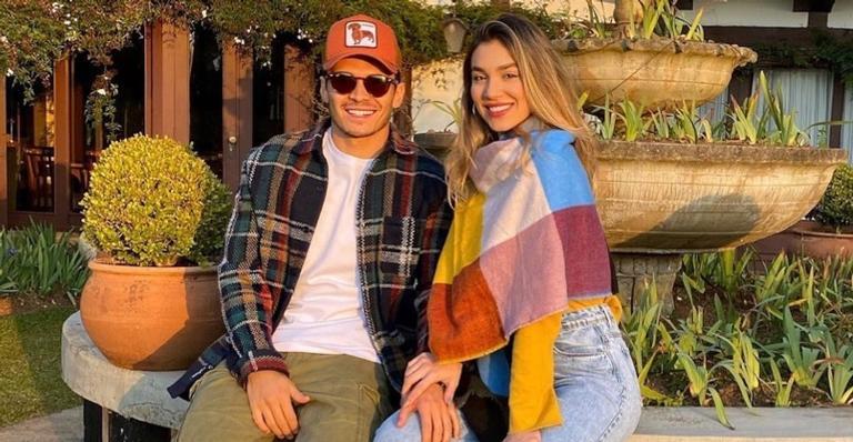 Irmã de Luan Santana assume namoro com Raphael Veiga, jogador do ...