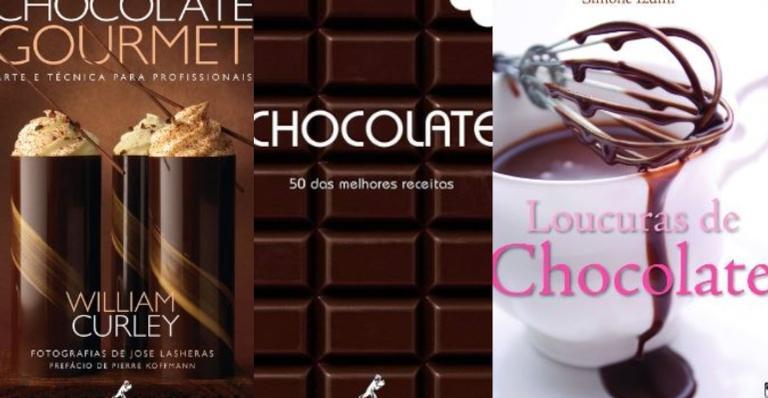 Separamos algumas curiosidades e livros sobre chocolate