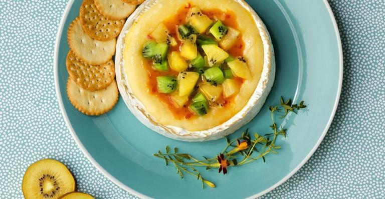 Amplie o cardápio de aperitivos com um queijo nobre