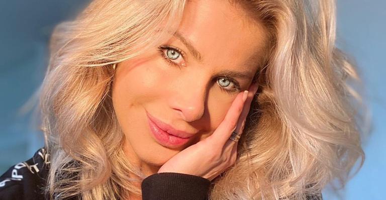 A apresentadora é mãe de Enrico, de 2 anos, e esposa de Amaury Nunes
