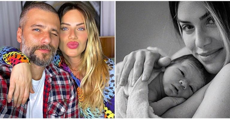 Apresentadora deu à luz na última semana