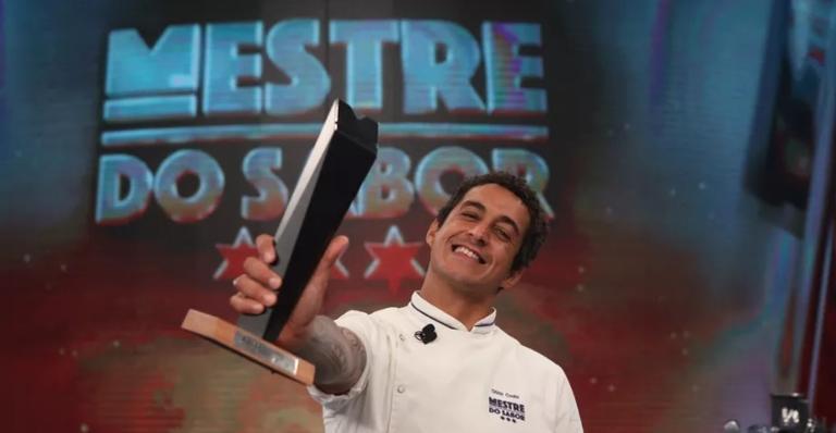 ''Ainda não caiu a ficha'', celebrou o chef de cozinha