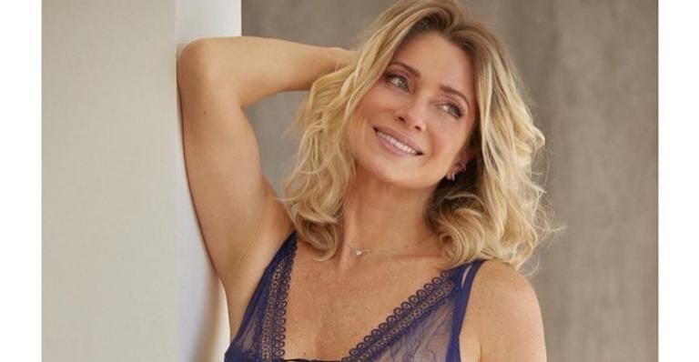 Beleza natural de Letícia Spiller chama a atenção na web