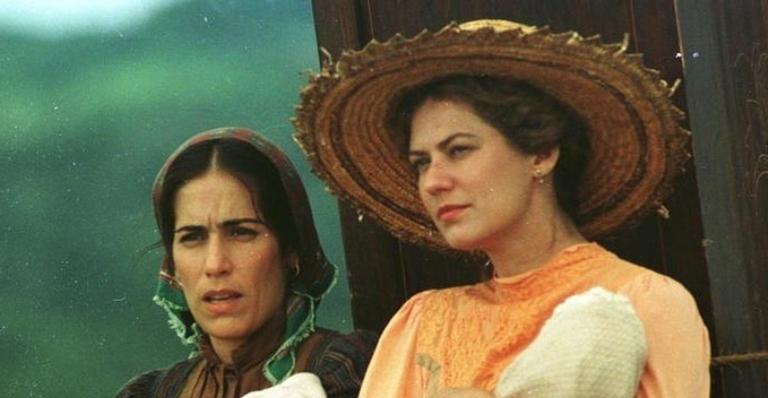 Gloria Pires relembra participação no filme 'O Quatrilho' ao lado de Patricia Pillar
