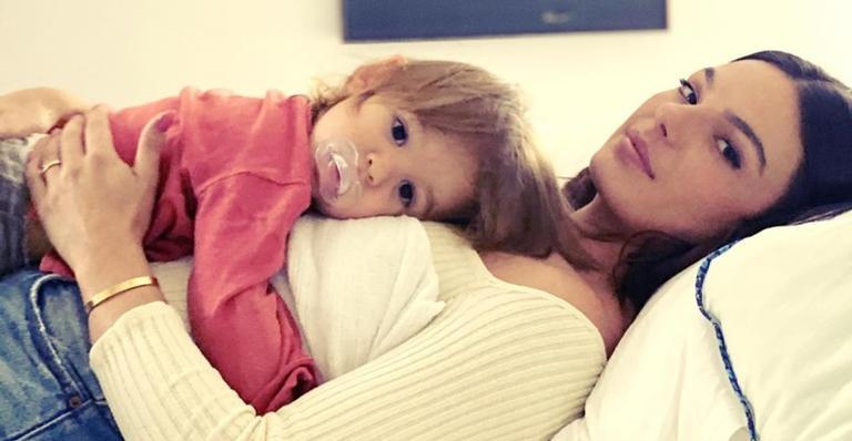 O pequeno é fruto do casamento da atriz com o modelo André Resende