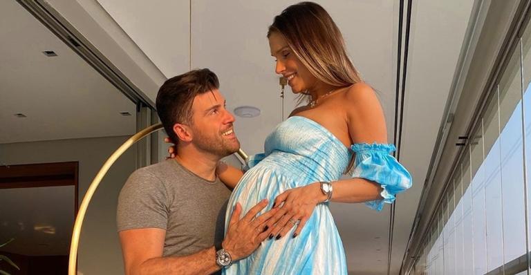 Herdeiro do casal nasceu em São Paulo (SP), nesta quarta-feira (16)
