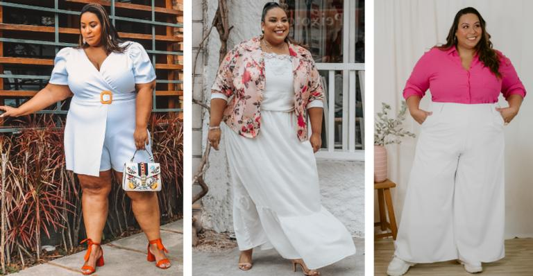 Dani Rudz, nossa colunista de moda plus size, comprova que qualquer tipo de corpo fica lindo em roupas desta cor