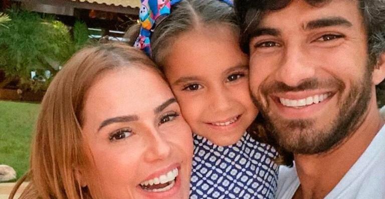 Atriz já é mãe de Maria Flor, de 4 anos