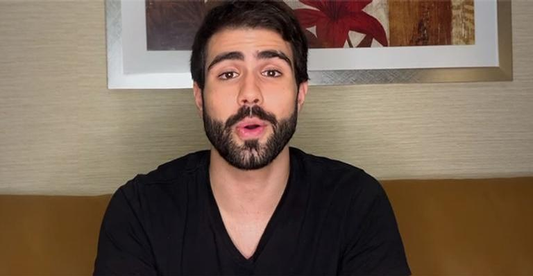 ''Conto com a oração de vocês'', declarou o ator em vídeo exibido pelo 'Domingão do Faustão'