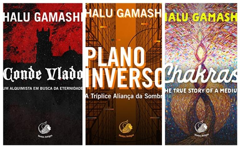 Aproveite títulos da escritora Halu Gamashi que fazem sucesso na Amazon