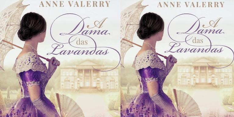 "Confira a obra ""A Dama das Lavandas"" disponível na Amazon"