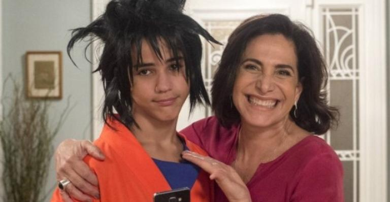 Hoje com 18 anos, Drico Alves também contou com o apoio da mãe na época: ''No fim, todo mundo amou''