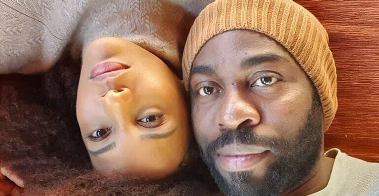 ''Com fé, esperamos este tempo passar'', escreveu a atriz nas redes sociais