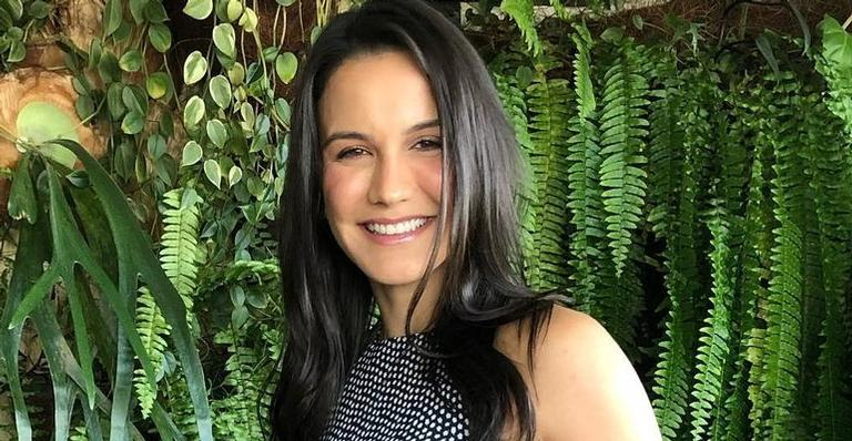 A lutadora espera Rayan, fruto de seu relacionamento com Malvino Salvador
