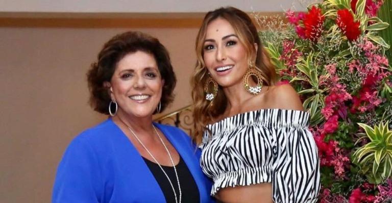 Apresentadora homenageou a sogra nas redes sociais