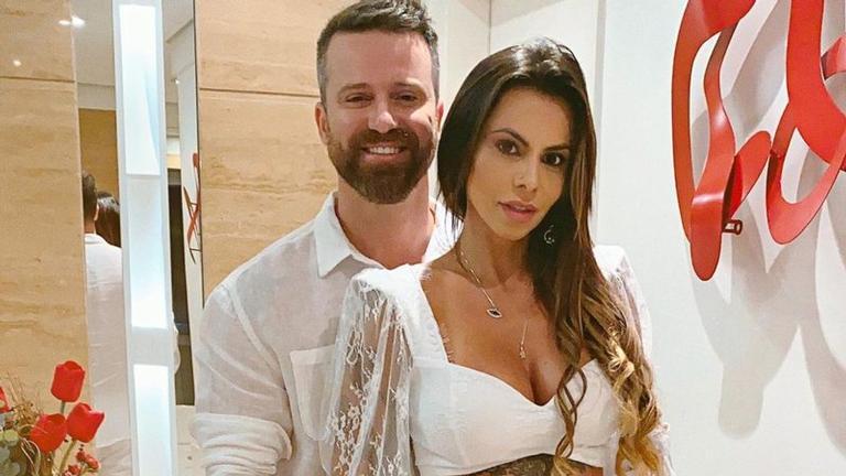 Letícia Oliveira acusou Maria Clara de ser o pivô da sua separação